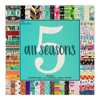 "All Seasons Five Paper Pack - 12"" x 12"""