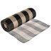 Black & Natural Buffalo Check Deco Mesh Ribbon - 10