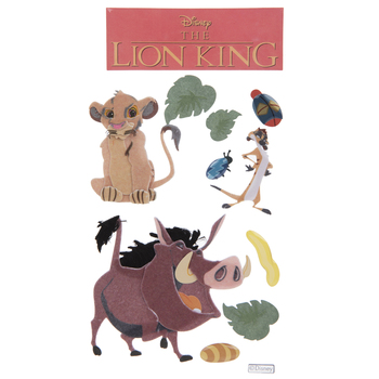 The Lion King 3D Stickers