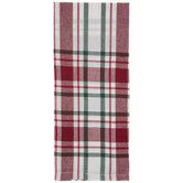 Plaid Christmas Kitchen Towel
