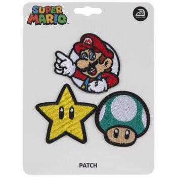 Super Mario Iron-On Appliques