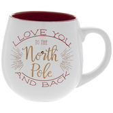 I Love You North Pole Mug