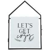 Let's Get Cozy Framed Decor