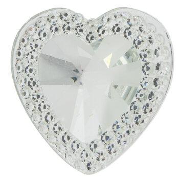 Gem-Cut Heart Rhinestone Scatter