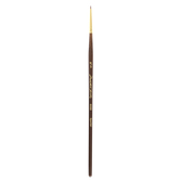 Golden Taklon Spotter Paint Brush - Size 18/0