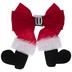 Santa Boots & Buckle Bow
