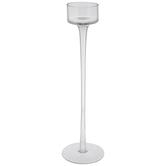 Elegant Glass Candle Holder