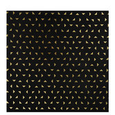 Gold Foil Triangle Gift Wrap