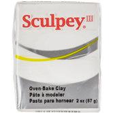 White Sculpey III Clay - 2 Ounce