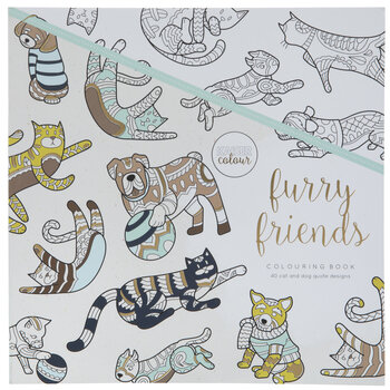 Furry Friends Coloring Book