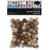 Earth Multi Round Wood Beads