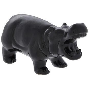 Black Glossy Hippo