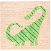 Brachiosaurus Rubber Stamp