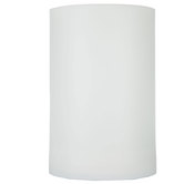 "White Outdoor Pillar LED Candle - 4"" x 6"""