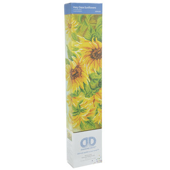 Hazy Daze Sunflowers Diamond Art Intermediate Kit