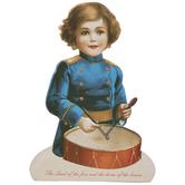 Drummer Boy Wood Decor