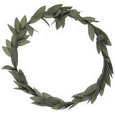 Mini Green Leaf Wreath