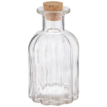 Ribbed Glass Bottle