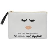 Love, Mascara & Lipstick Pouch
