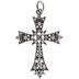 Cross Pendant With Rhinestones