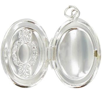 Oval Locket Charm