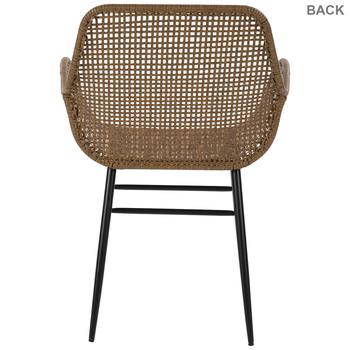 Rattan Woven Arm Chair