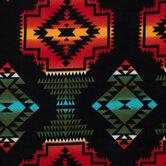 Southwest Onyx Fleece Fabric