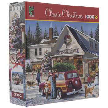 Country Store Christmas Puzzle