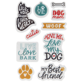 Dog Quotes Cling Stamps