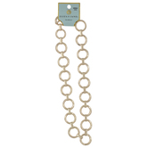 Circle Chain Link Necklace