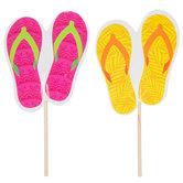 Flip-Flops Cupcake Toppers