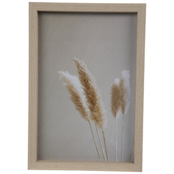 Pampas Grass Wood Wall Decor