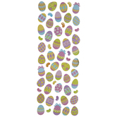 Easter Egg & Jelly Bean Foiled Stickers
