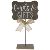 Cards & Gifts Wood Decor