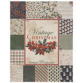 "Vintage Christmas Paper Pack - 8 1/2"" x 11"""