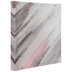 Pink & Silver Abstract Canvas Wall Decor
