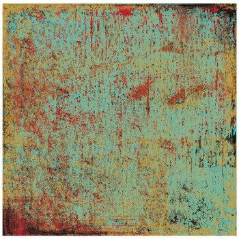 """Distressed Teal Rebel Scrapbook Paper - 12"""" x 12"""""""