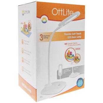 OttLite Flexible Soft Touch LED Desk Lamp
