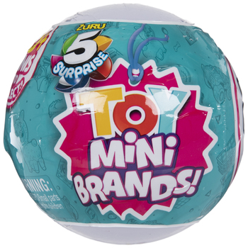 Five Surprise Toy Mini Brands