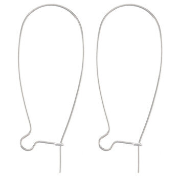 Kidney Ear Wires - 37mm