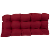 Red Bench Cushion