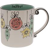 Happy Vintage Ornaments Mug