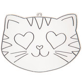Heart Eyes Cat Suncatcher