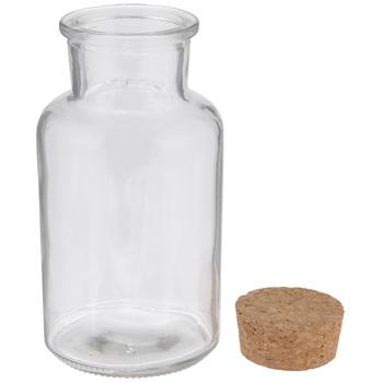 Tapered Glass Bottle