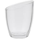 Irregular Glass Candle Holder