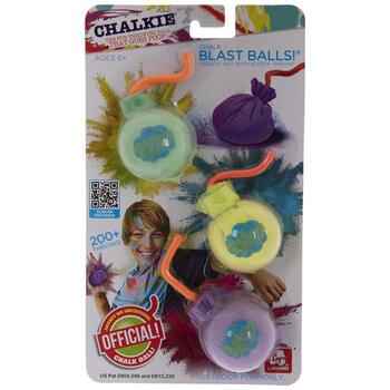 Chalk Blast Bombs