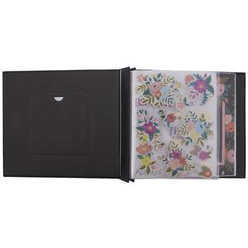 """Feminine Floral Post Bound Scrapbook Album Kit - 8"""" x 8"""""""