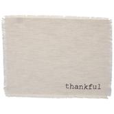 Cream Thankful Placemat