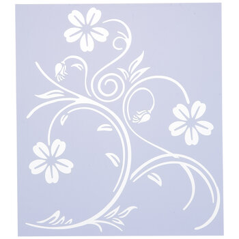 Vines & Flowers Stencil