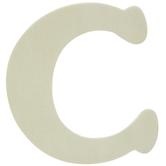 "Wood Letters C - 4"""